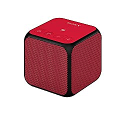 Sony SRS-X11 Compact Portable Bluetooth Wireless Speaker with NFC - Red