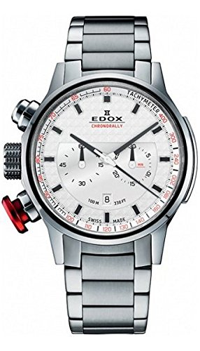 Edox Chrono Rally Chronographe Montre Homme 103023m Ain