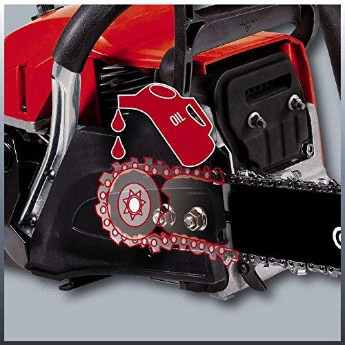 Einhell Benzin Kettensäge GC-PC 2040 I (2 kW, 40 cm Schwertlänge, 21 m/s Schnittgeschwindigkeit, automatische Kettenschmierung, inkl. Schwertschutz) - 6