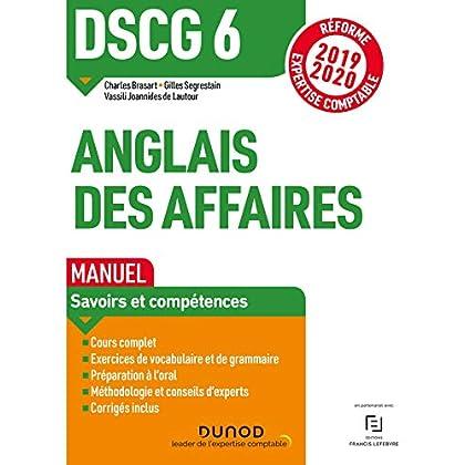 DSCG 6 - Anglais des affaires - Manuel - Réforme 2019/2020: Réforme Expertise comptable 2019-2020