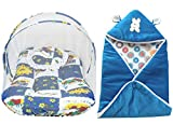 #4: My Newborn Baby Mosquito Net and AC Blanket Wrapper-Combo of 2 PCs