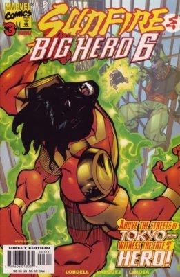 Sunfire & Big Hero 6 Issue 3 November 1998 by Scott Lobdell (6 Hero Big Sunfire)