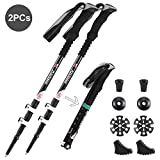 Anti-Shock Trekking Pole , Oxidation-treatment 7075 Aluminum Alloy Walking Poles with Comfortable EVA
