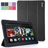 Poetic Slimline Case for New Kindle Fire HDX 8.9 2nd Generation 2013 8.9 inch Tablet - Black