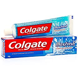Colgate Toothpaste Maxfresh Peppermint Ice - 150 g (Blue Gel)
