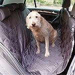 Dog Car Seat Cover Set, Waterproof, Non-Slip Hammock with Storage Pocket, 2 x Bowls, 2 x Pet Seat Belts, Adjustable… 9