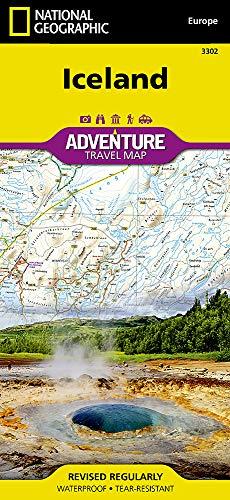 Preisvergleich Produktbild Island: NATIONAL GEOGRAPHIC Adventure Maps