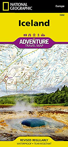 Iceland: Travel Maps International Adventure Map [Idioma