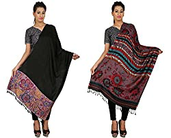 Anuze Fashions New Styles Fashionable Plain Viscose Stole & Shawls For Womens And Girls