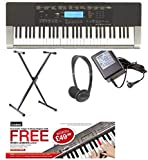 Best Casio Music Stands - Casio CTK4400 Portable Electronic Keyboard Pack 1 Review