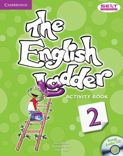 The English Ladder  2 Activity Book with Songs Audio CD - 9781107400696