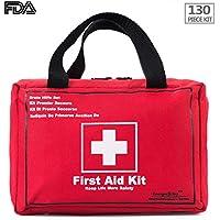 Songwin Kompakt Erste Hilfe Set mit 130 Teilen Harte Tasche-Wasserdichte Mini First Aid Kit für Haus,Auto,Camping... preisvergleich bei billige-tabletten.eu