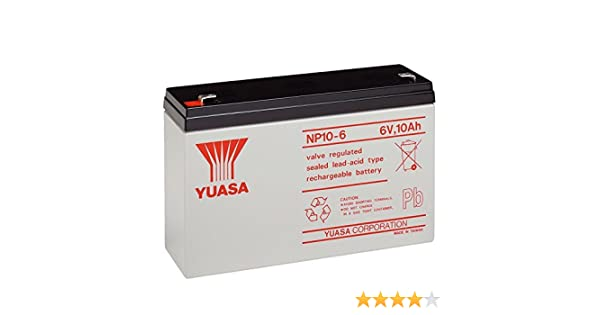 chargeur batterie yuasa np10-6