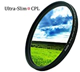 DolDer X–Pro Series Slim Zirkular Polfilter 62mm - CPL Filter 62mm
