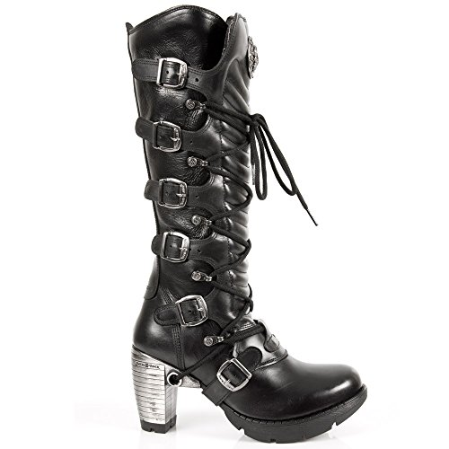 New Rock M.TR004-S1, Bottes femme BLACK, BLACK