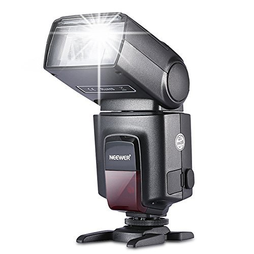 Neewer® TT560-Blitz Speedlite für Canon Nikon Sony Olympus Panasonic Pentax Fujifilm Sigma Minolta Leica und andere SLR Digital SLR Spiegelreflex-Kameras und Digitalkameras mit Single-Kontakt Hot Shoe (Sigma-single)