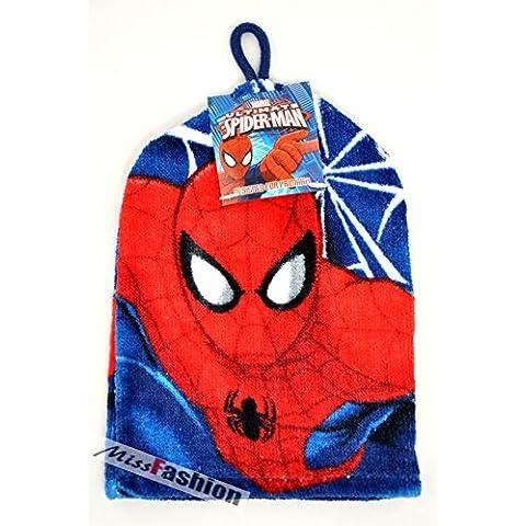 Spider-Man lavado manopla guante de franela ducha clubking