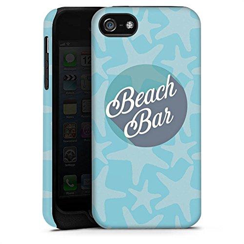 Apple iPhone 4 Housse Étui Silicone Coque Protection Plage Vacances Été Cas Tough terne