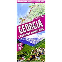 Georgia 1 : 400 000: Caucasus Mountains