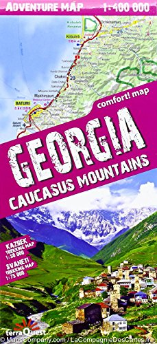 Georgia - Caucasus mountains lam. por TerraQuest