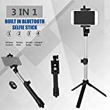 SHOPEE BRANDED Selfie Stick Tripod with Bluetooth Remote Control Button Wireless Selfie Stick Android IOS Para Selfie Handheld Monopod Tripod