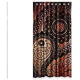"""Diseño de madera de encargo Doubee cenefa de cortinas de oscurecimiento de 127 cm x 243,84 cm (una sola pieza), poliuretano, E, 50""""x96"""""""
