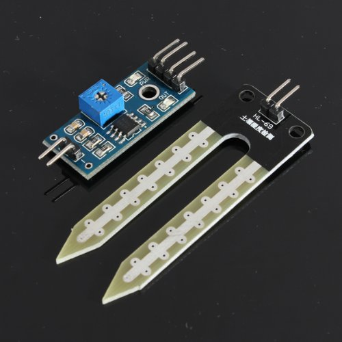 51M9T4X1LVL - SODIAL(R) Suelo higrometro Deteccion de humedad Modulo Sensor de humedad Prueba de Arduino PI