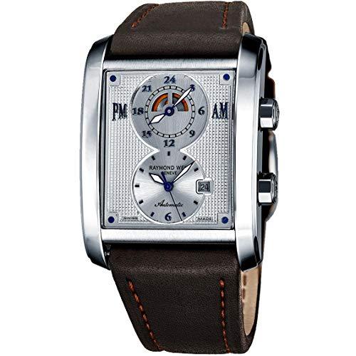 Raymond Weil Don Giovanni Homme Bracelet Cuir Automatique Montre 2888-STC65001