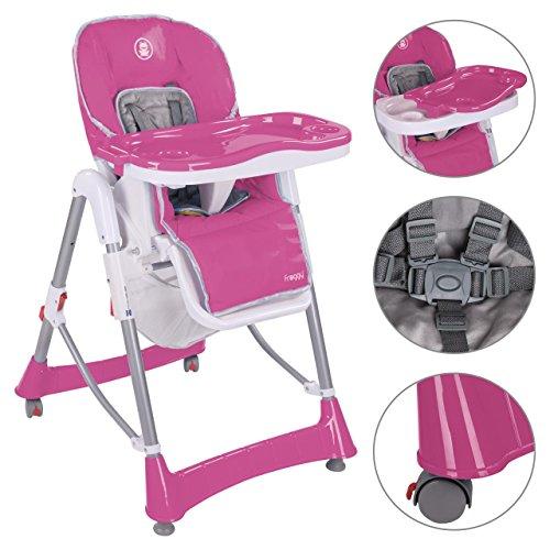 Preisvergleich Produktbild Froggy® Kinderhochstuhl BHC01 zusammenklappbar in Pink