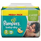 Pampers Baby Dry Windeln Gr. 5 11-23 kg Mega Plus Pack 90 St.