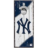 WinCraft New York Yankees MLB Schild mit Flaschenöffner