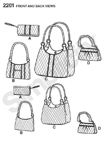 Simplicity Sewing Pattern 2201 Bags