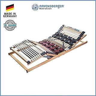 Ravensberger Matratzen DUOMED Lattenrahmen in verschiedenen Größen (100 x 200 cm, Buche Kabel-Fernbedienung)