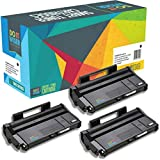 3 Do it Wiser Kompatibel Toner für Ricoh Aficio SP112 SP112SU SP112SF SP100 SP100E SP100SU SP100SF SP 112 Toner - 407166 Schwarz