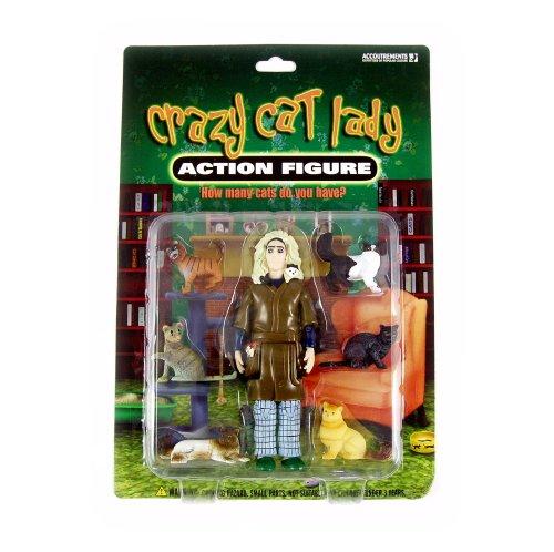 Crazy Cat Lady Action Figur