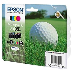 Epson C13T34764010 Ink Cartridge - Black/Cyan/Yellow/Magenta