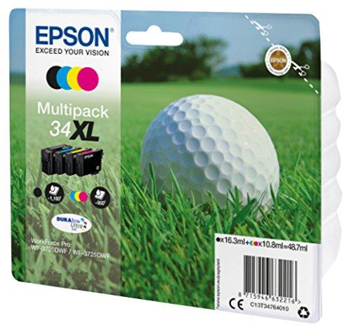 Epson Original Multipack 4-farbig 34XL Golfball DURABrite Ultra Ink -
