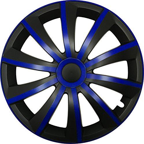 GRAL Blau/Schwarz - 14 Zoll, passend für fast alle Honda z.B. für Accord 7.Generation - Honda Accord Radkappen