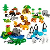 LEGO DUPLO Wild Animals Set - Age Mark: 2+, Piece count: 104