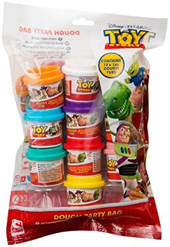 Disney Toy Story 4 Spieltag Set Mit 10 Bechern Modelliermasse Mehrfarben-spielteig Mit Filmcharakteren Woody, Buzz Or Alien | Pädagogische Handwerk Aktivität Und Geschenkidee Für Kinder Ab 3 Jahren