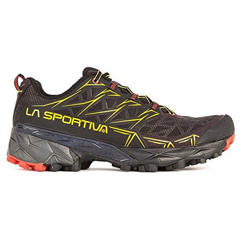 44 M EU , Black : La Sportiva Men's Akyra Mountain Running Shoe