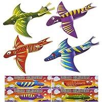 Dinosaurier-Flieger, 36 Stück (4 verschiedene Designs)