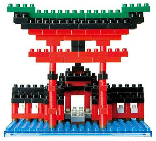 Nanoblock - Nbh-017 - Jeu De Construction - Big Torii Itsukushima Shrine