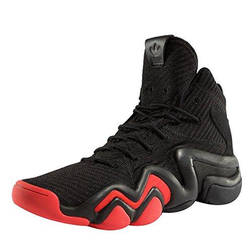 adidas Herren Crazy 8 ADV CK Gymnastikschuhe, Schwarz (Core Black/Hi-RES Red S18/Ftwr White), 41 1/3 EU (Jordan Sportschuhe)