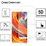 Case Creation Tempered Glass Screen Guard Ultra Clear Edge to Edge Protector for Oppo A83 3D Arc Edge Full Body Tempered Glass
