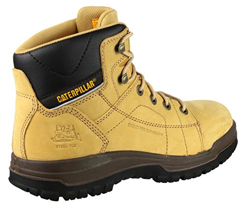 Caterpillar Dimen Hi Sb, Chaussures de Sécurité Homme Miel