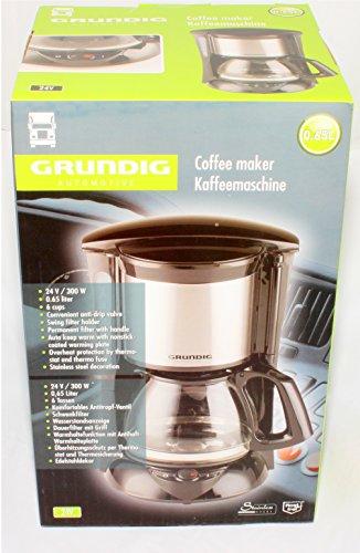 Kaffeemaschine 24V 300W LKW Boot Kaffee Maschine Bus 6 Tassen viel Zubehör