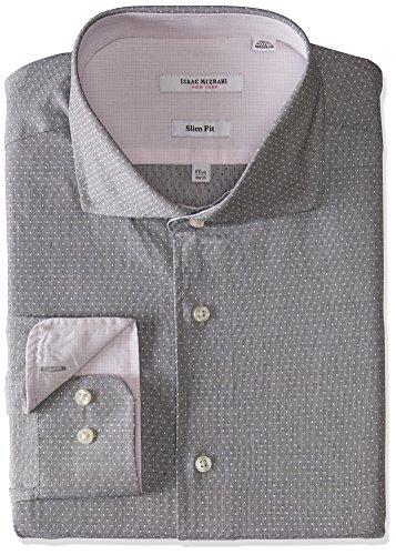 Isaac Mizrahi da uomo   camicia per completo Grey Dot