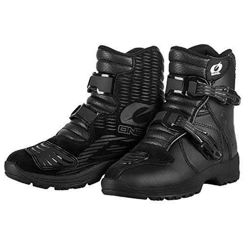 O'Neal Rider Boot EU Shorty Street MX Stiefel Kurz Schuhe Motorrad Enduro Motocross Offroad, 0344-6, Größe 45 (Atv-stiefel Kurz)