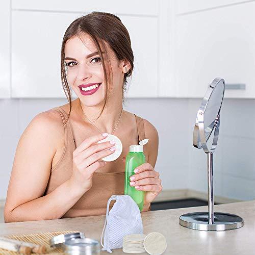 Zoom IMG-2 dischetti struccanti riutilizzabili love77 lavabili
